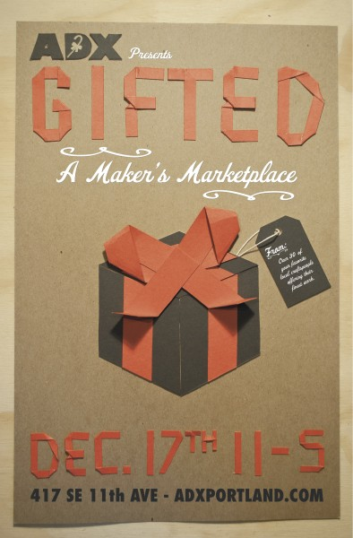GIFTED Maker's Marketplace at ADX Portland